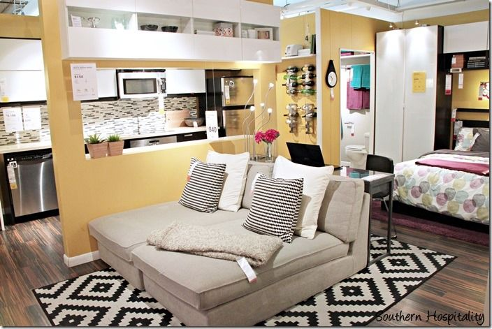 Revisiting Ikea Southern Hospitality Ikea Small Spaces Tiny House Furniture Small Space Living Room
