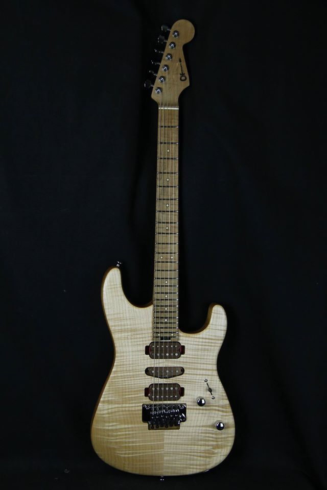 Charvel® Guitars Guthrie Govan (Official) Signature Model with Flame Maple Top
