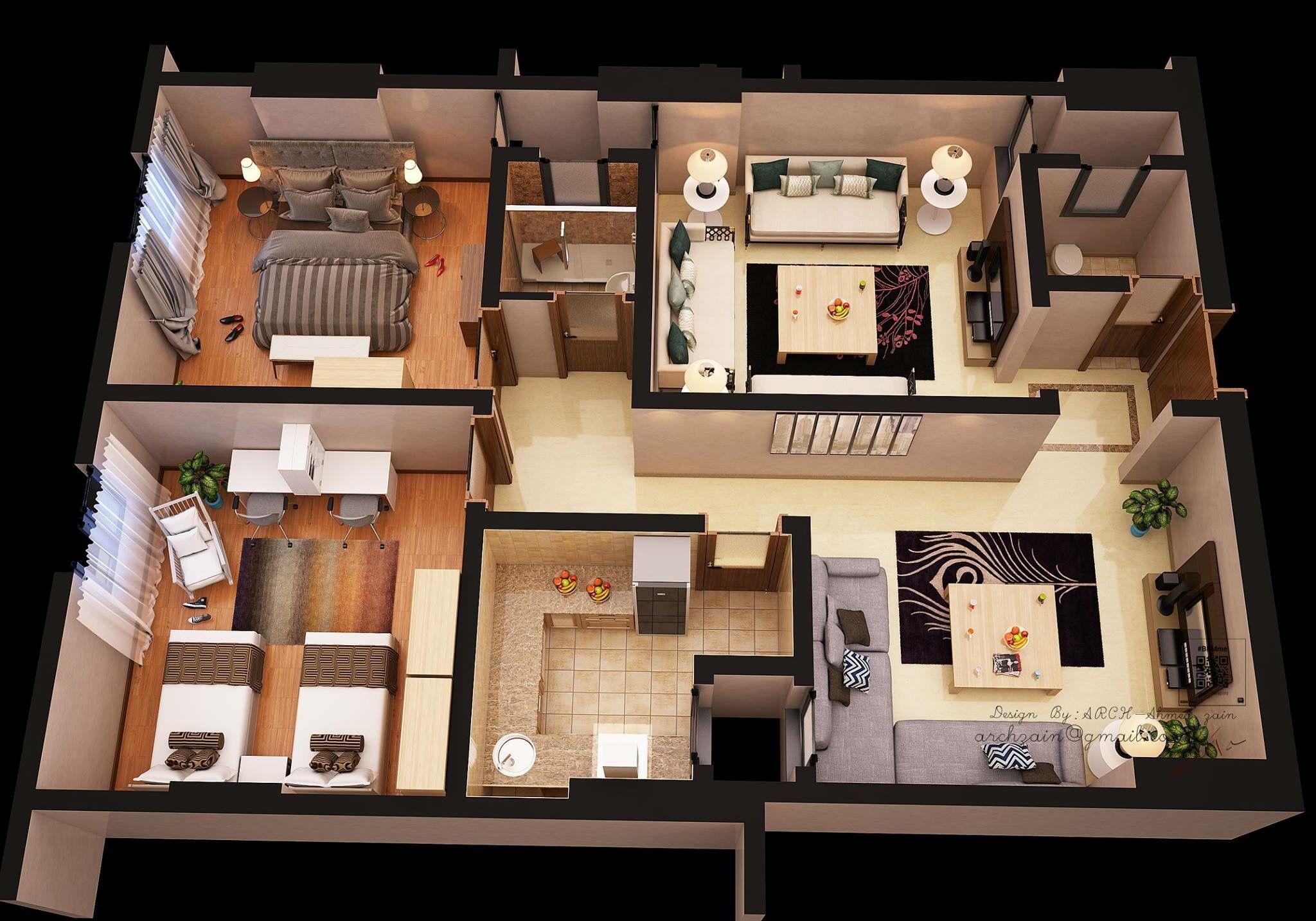 Floor Plans, House Plans, Presentation, Arquitetura, Wireframe, Blueprints  For Homes, House Floor Plans, House Design