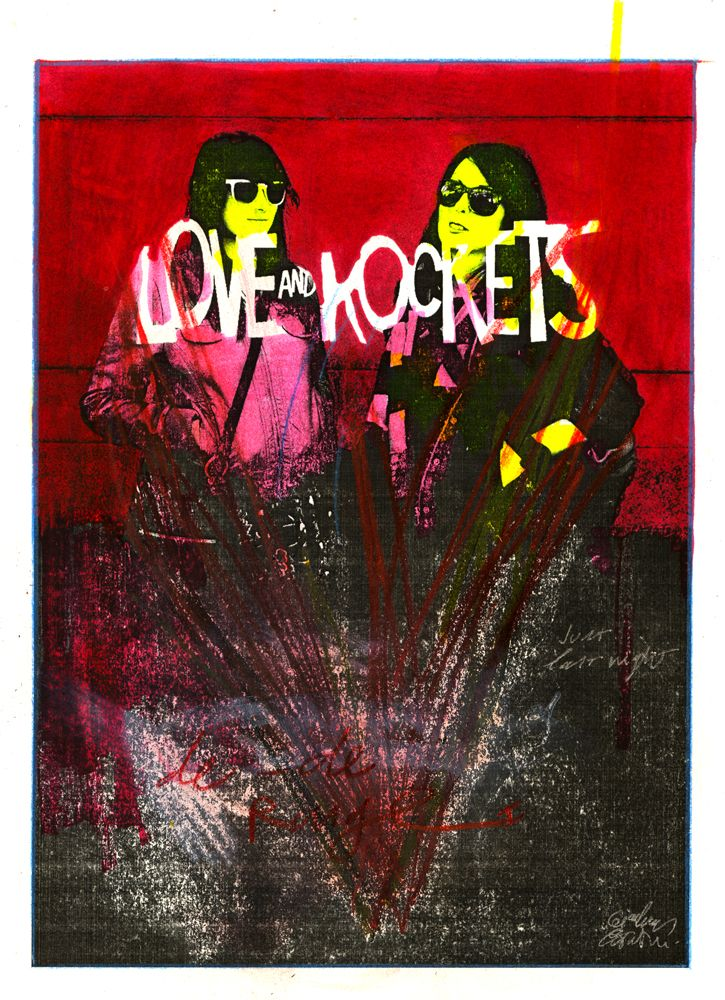 Love and Rockets  http://www.gianlucacostantini.com
