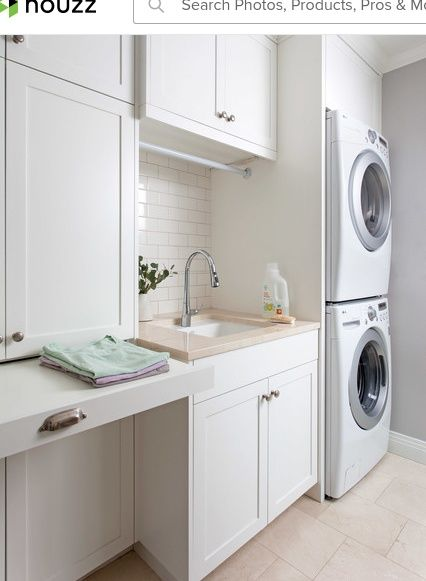Clean classic traditional laundry room austin by cgs clean classic traditional laundry room austin by cgs design build solutioingenieria Gallery