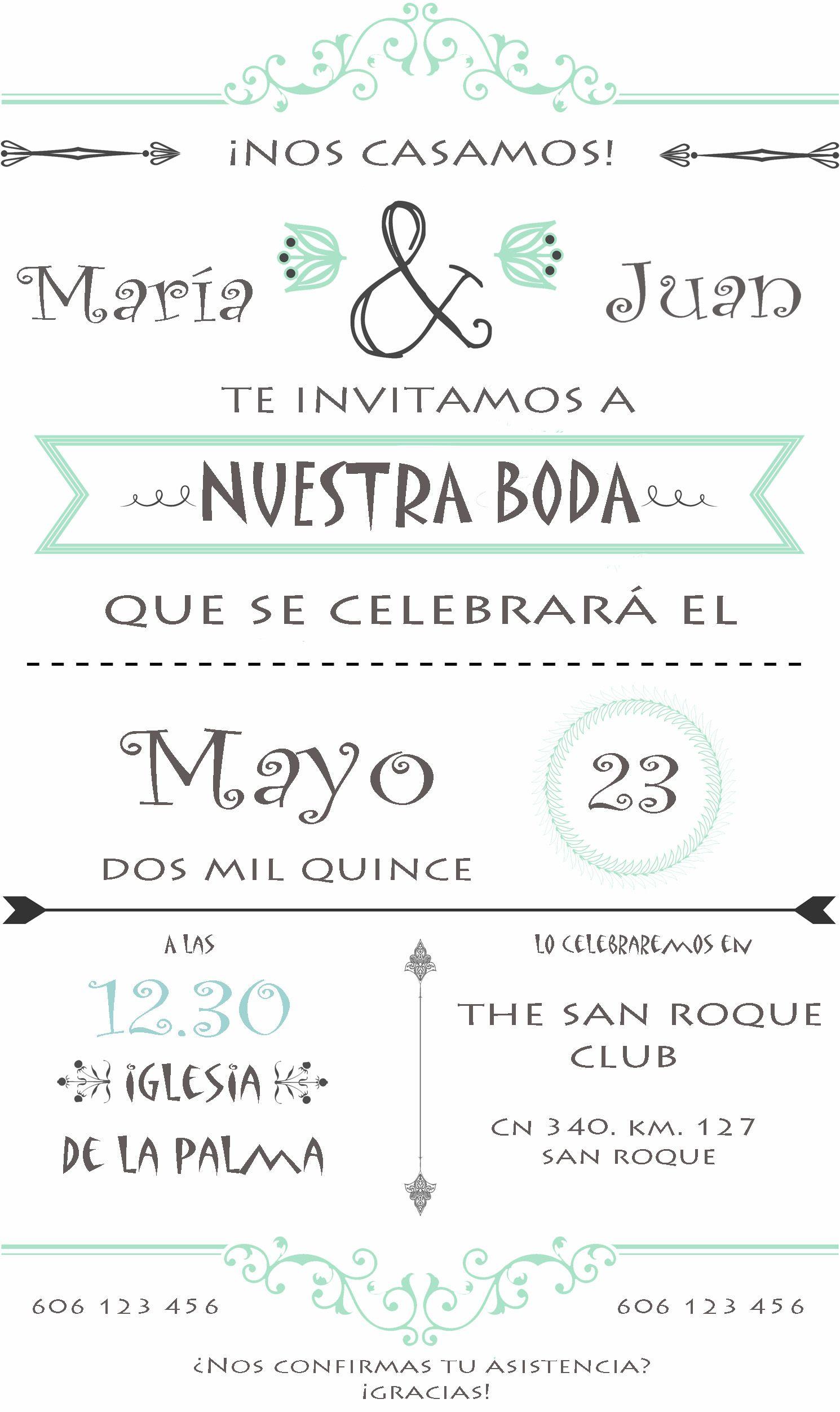 Invitaciones De Boda Personalizadas Paso A Paso Boda