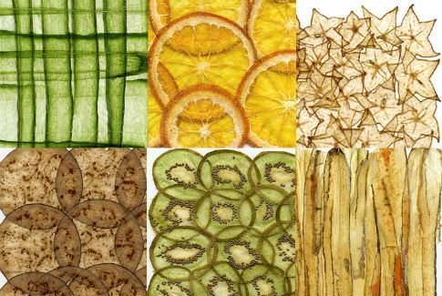 fruit and vegetable papyrus- love!