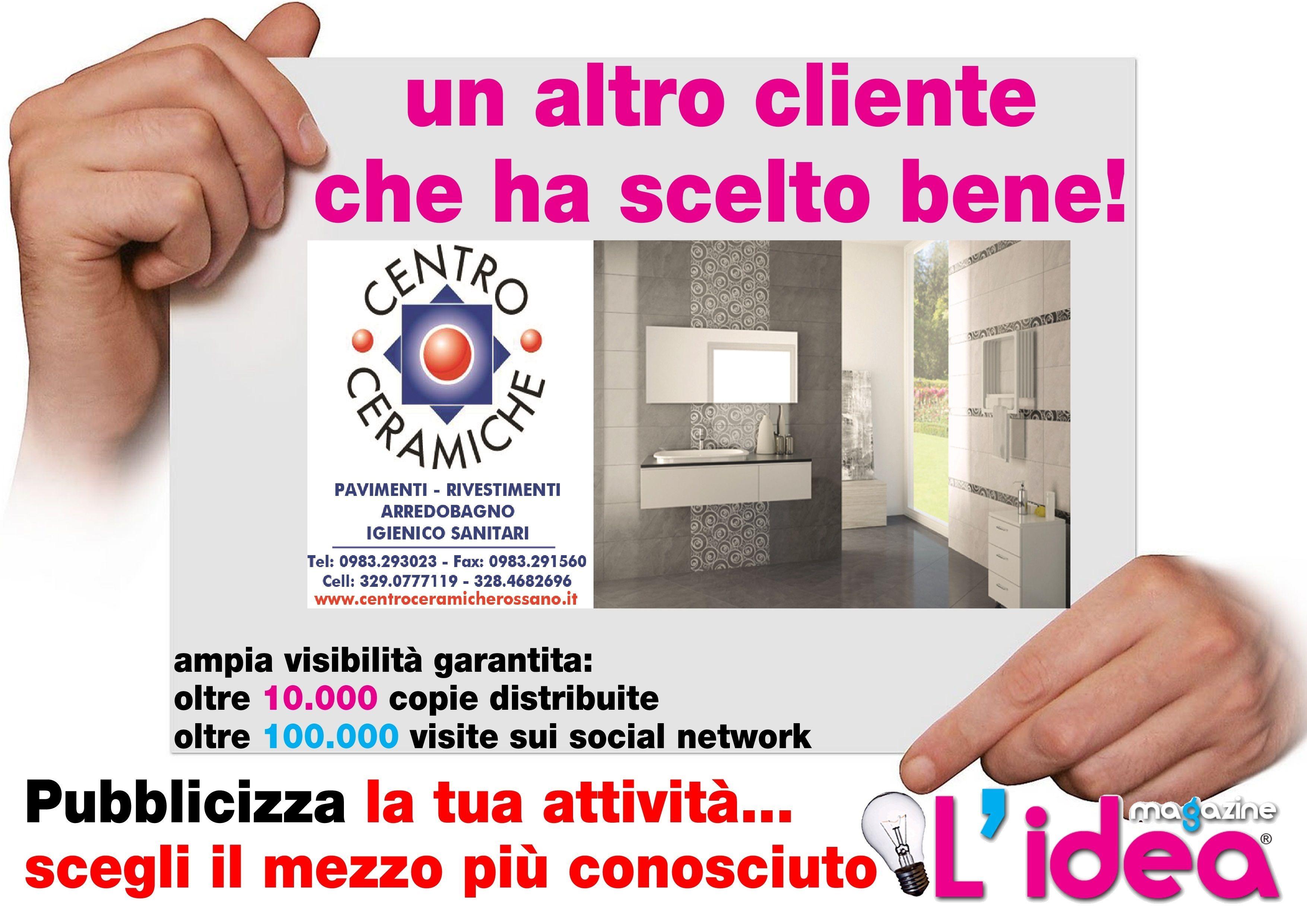 Centro Ceramiche Rossano.Grafica Da Noi Realizzata Per Centro Ceramiche Rossano Cs