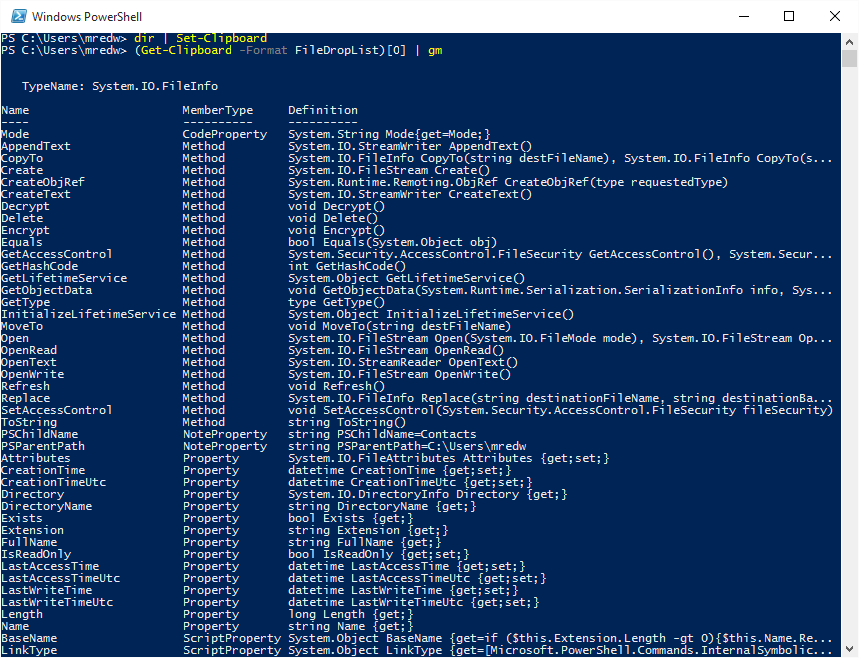 Cool Stuff About Powershell 5 0 In Windows 10 Scripting Blog Technology Hacks Hacking Computer Computer Technology