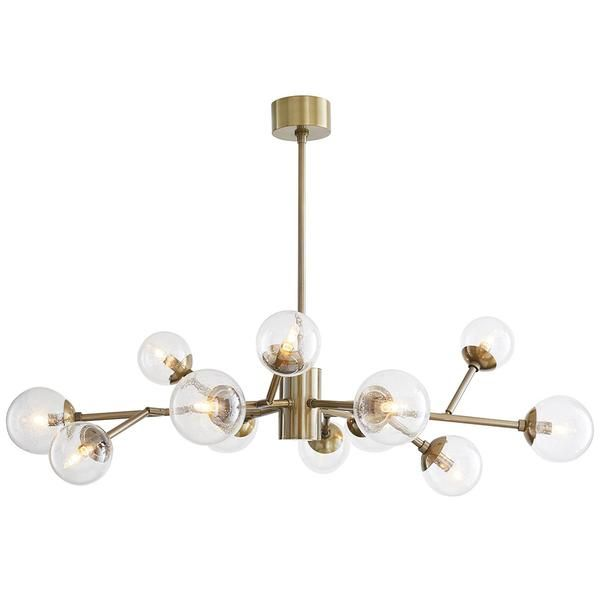 Arteriors Dallas 12 Light Chandelier |