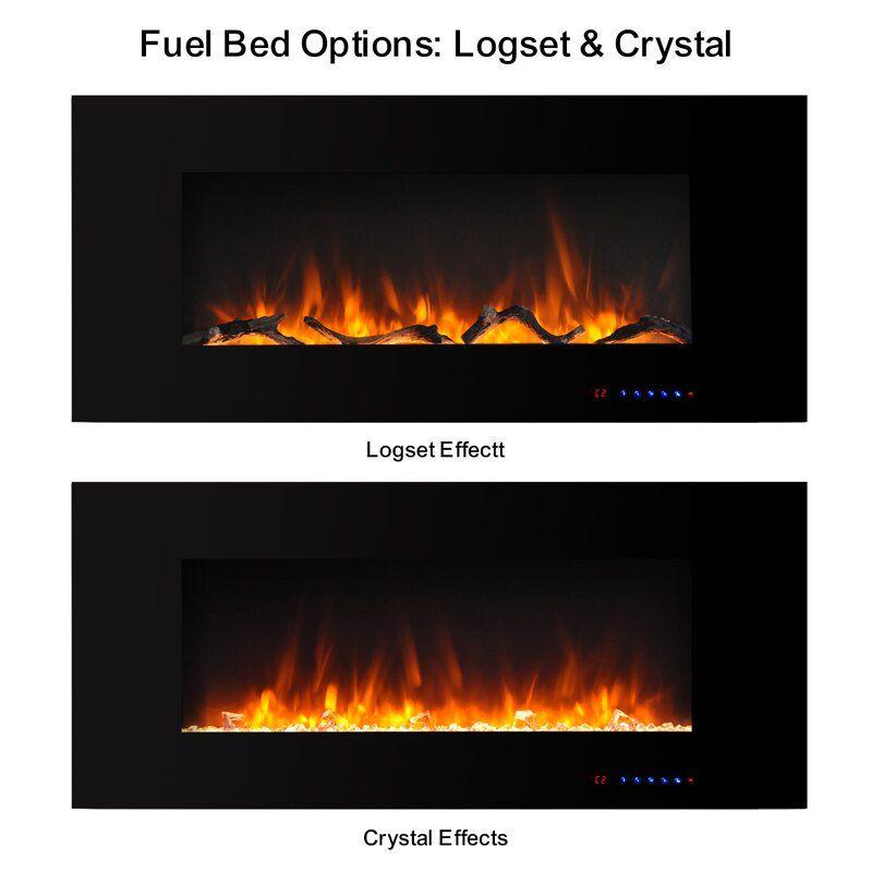 Krystal Wall Mounted Electric Fireplace In 2021 Wall Mount Electric Fireplace Electric Fireplace Fireplace Wall mount electric fireplace reviews