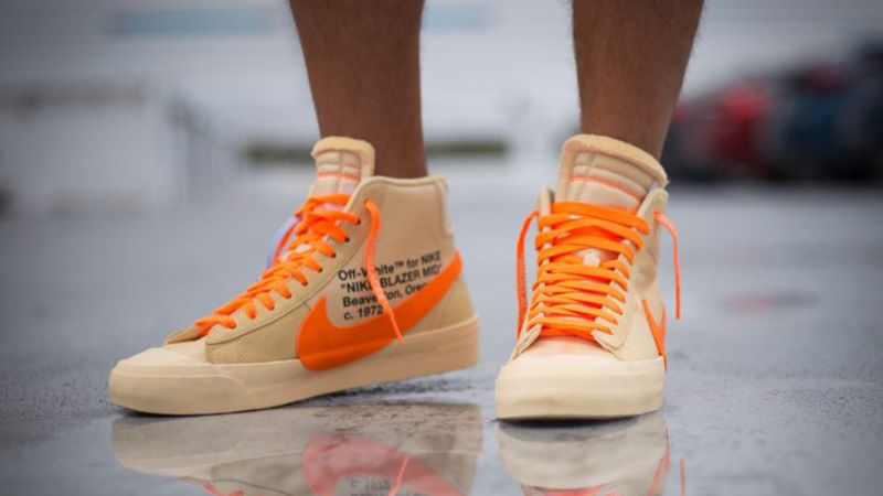 cartucho Exceder reunirse  Off-White x Nike Blazer Orange SPOOKY PACK | AA3832-700 | The Sole Supplier  | Sneakers men fashion, Sneakers fashion, Hype shoes