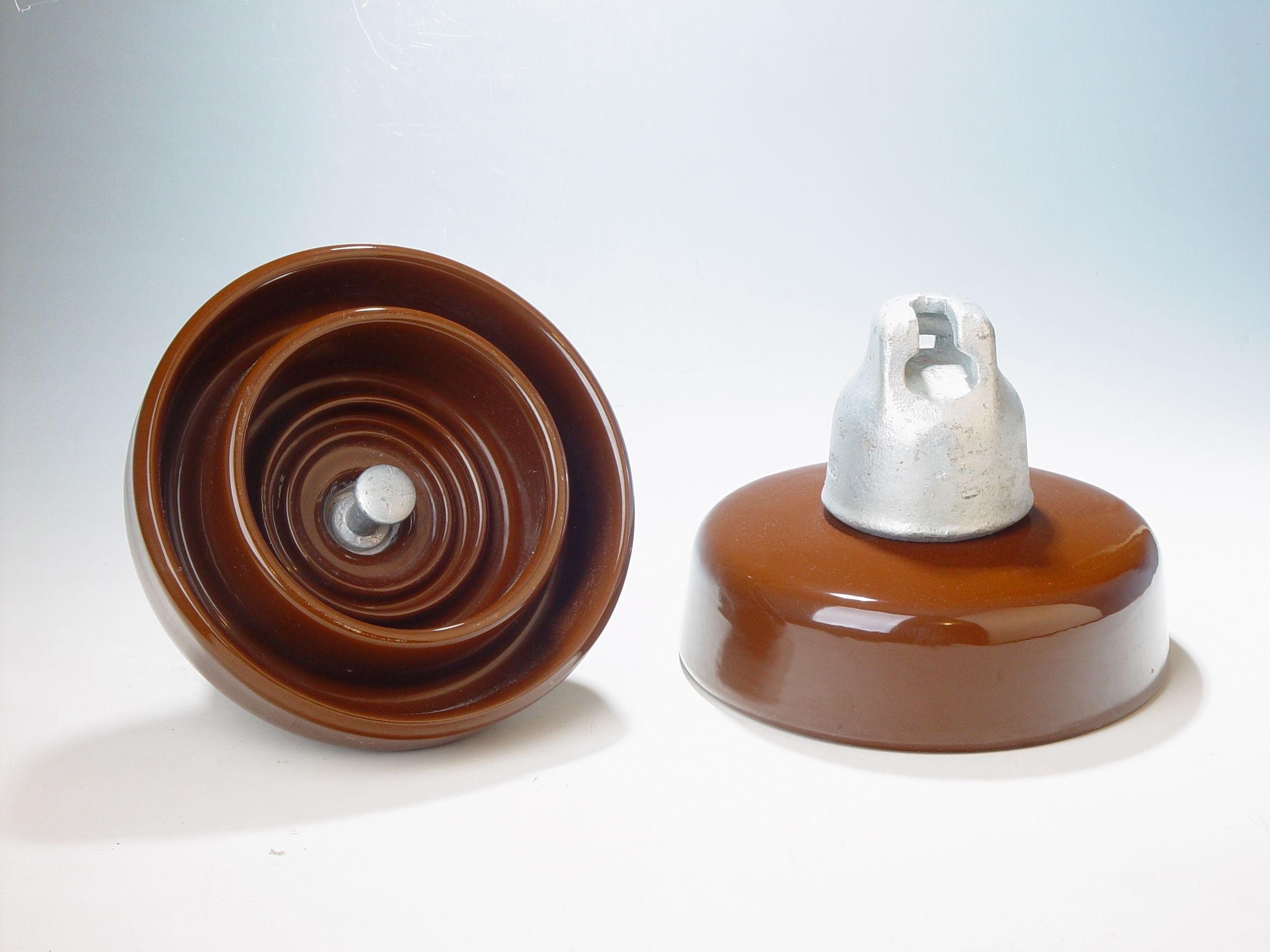Anti Pollution Suspension Insulators Fog Type Disc Insulators Insulation