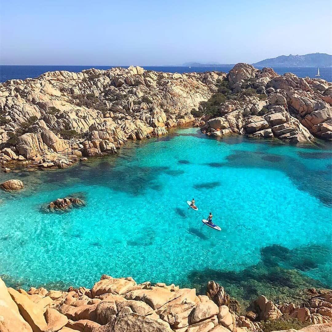 Deserted Island Beach: Sardegna.. The Turquoise Lagoons, Deserted Islands And