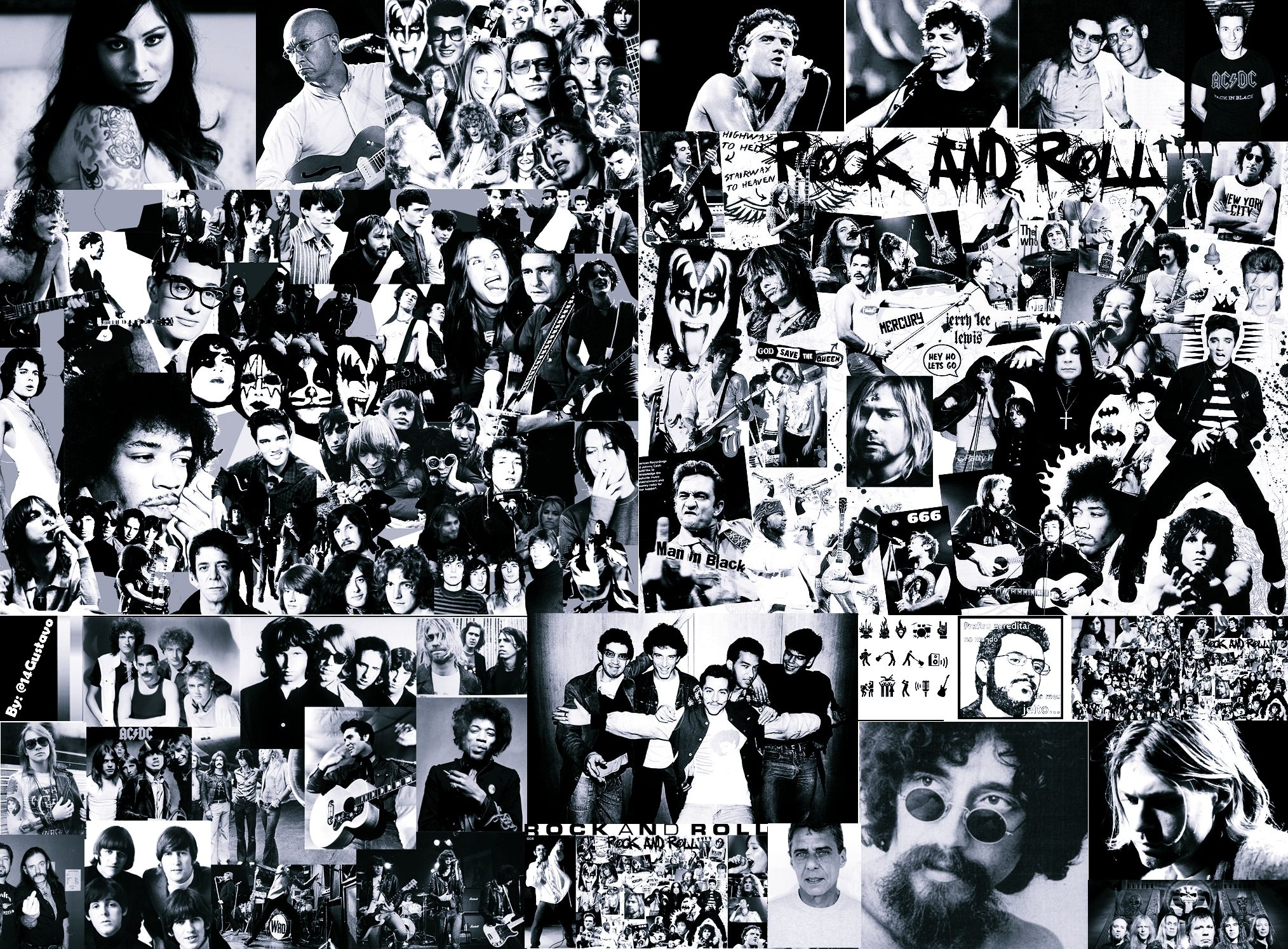 Rock And Roll Wallpaper Forwallpaper Com Rock N Roll