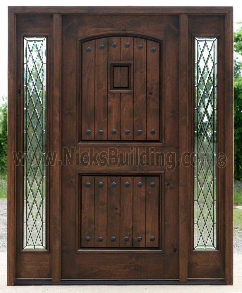 Exterior Door With Sidelights Pre Finished Exterior Doors With Glass Rustic Exterior Doors Exterior Doors