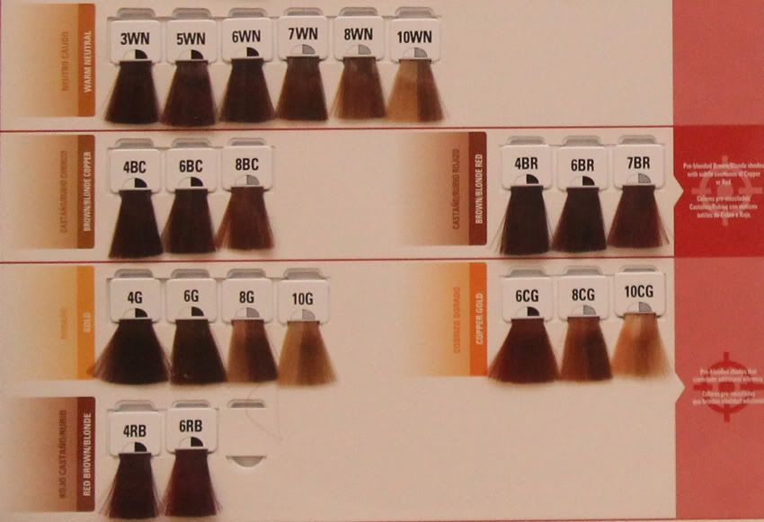 Matrix Color Swatches - Bing Images   Hair Products & Hair Colors ...