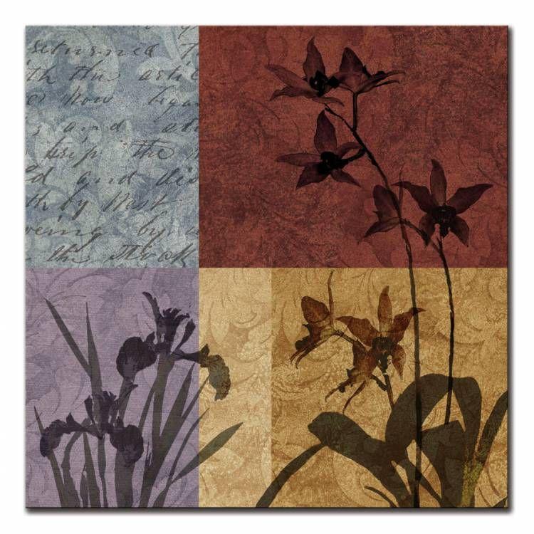 12856 / Cuadro Floral&Still life Refrain II