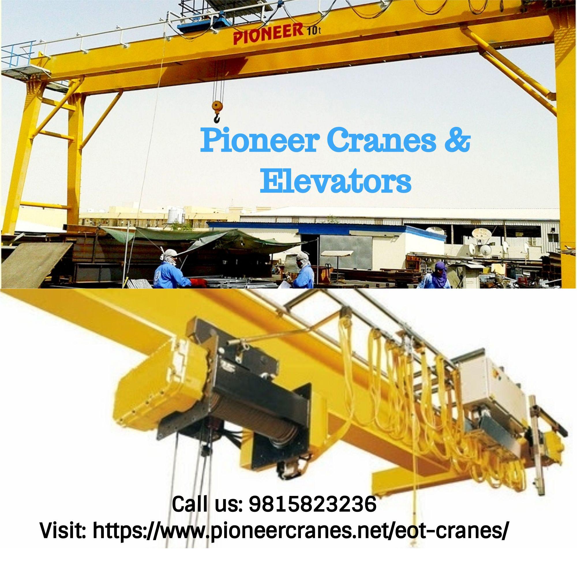 Eot crane manufacturer in 2020 crane construction