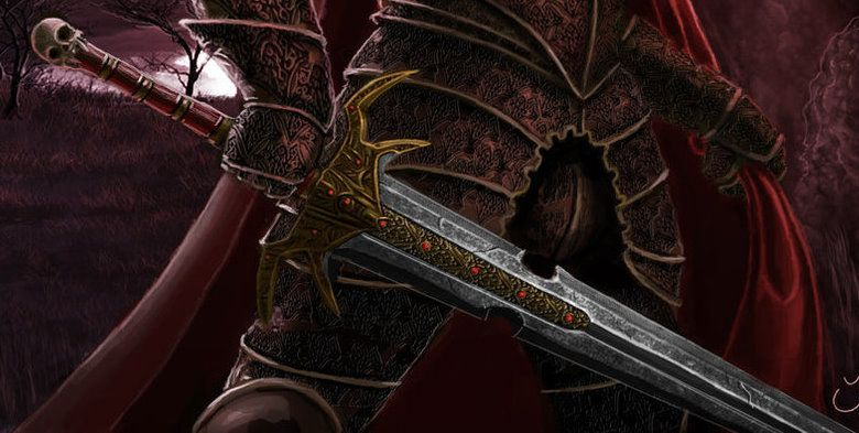 Hazirawn the Defiler, sntient sword of Rezmir | Hoard of the