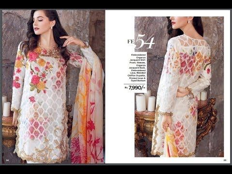 d9ecd5ba96 Gul Ahmad Winter Linen 2018 Collection With Price | Fashion Trends ...