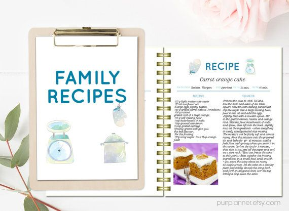Blank Recipe Template Blank Editable Recipe Cards Card Versions