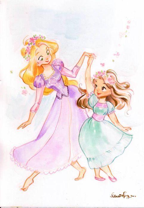 Rapunzel Dancing - #Dancing #rapunzel