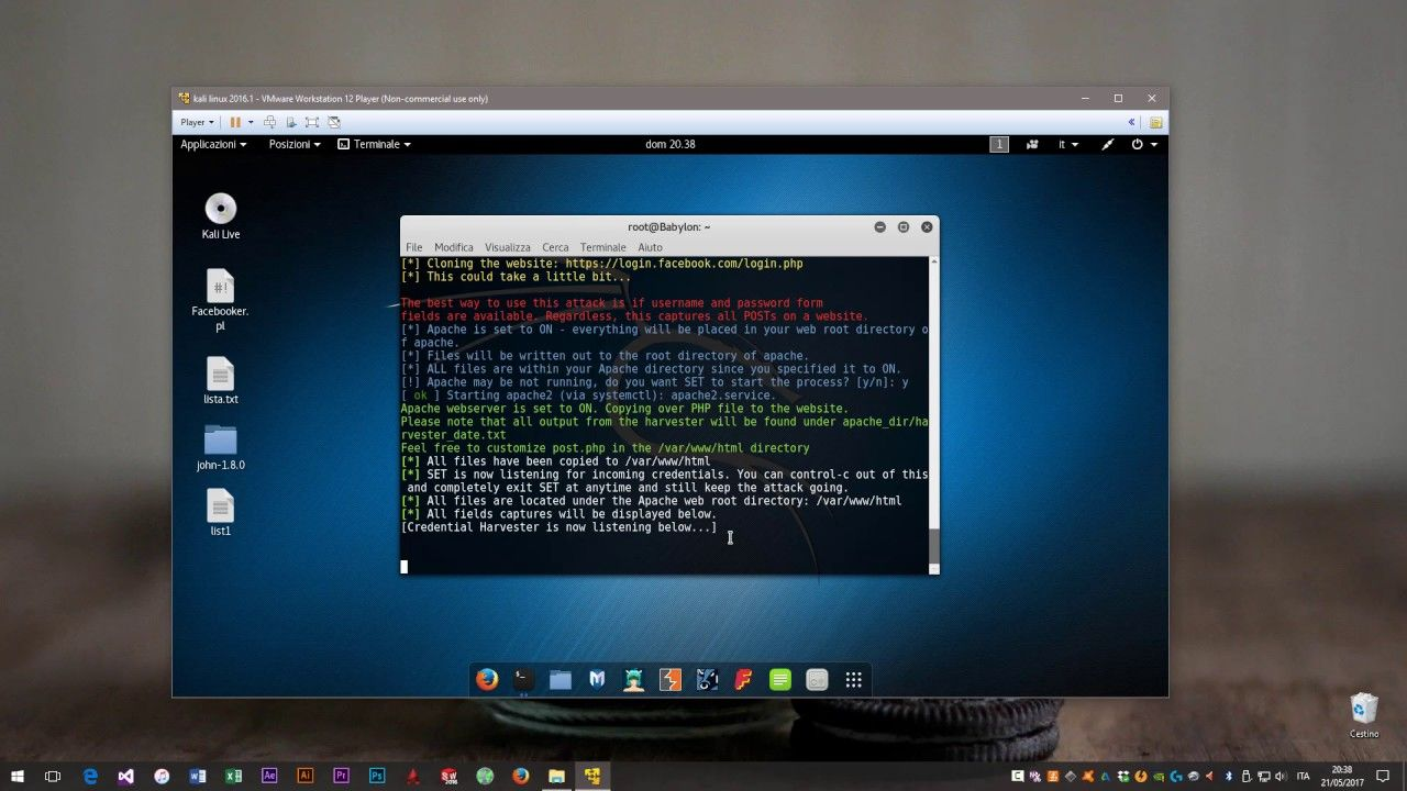 How to hack any social media password using SET - Kali Linux