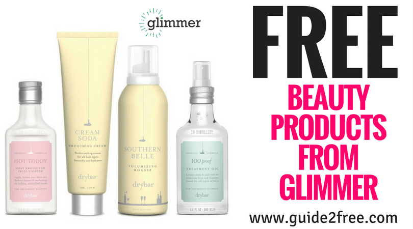 Free Beauty Products From Glimmer Free Beauty Products Free Perfume Sample Freebies By Mail