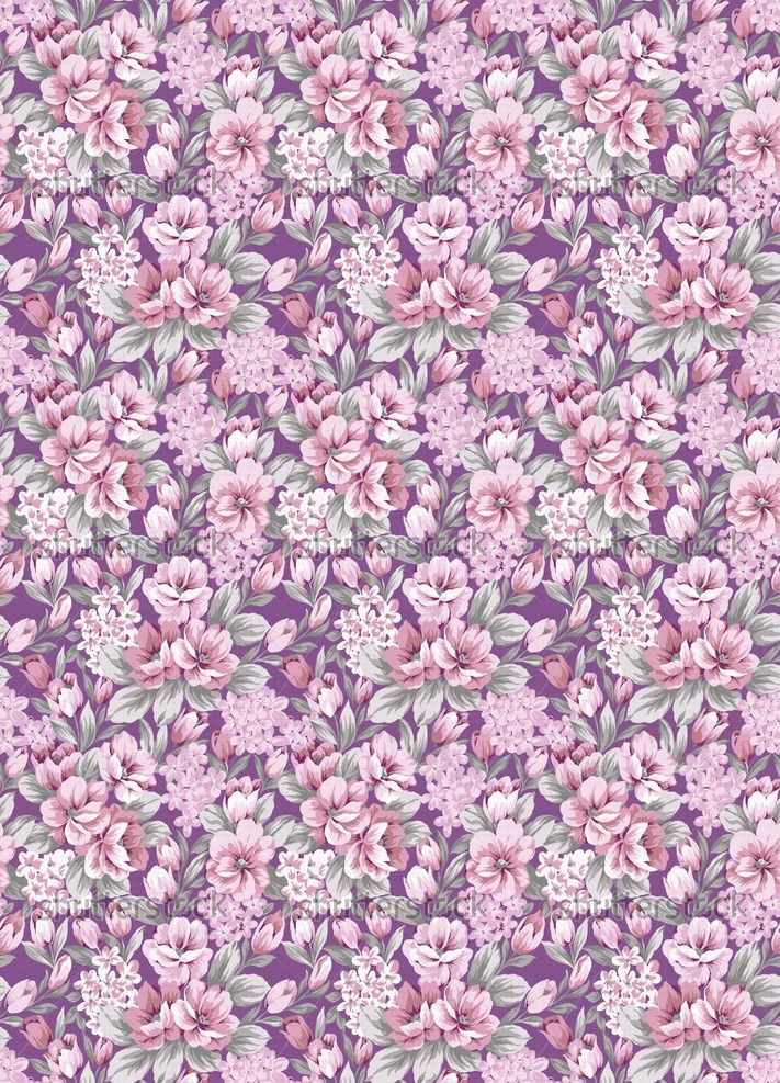 Vintage Flower Pattern Purple | www.imgarcade.com - Online ...