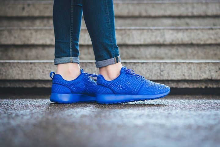 c604f5cf2131 ... coupon code for on foot images of the nike roshe one dmb racer blue.  whos
