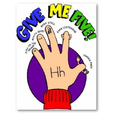 Give me 5 | Classroom Management | Teaching first grade