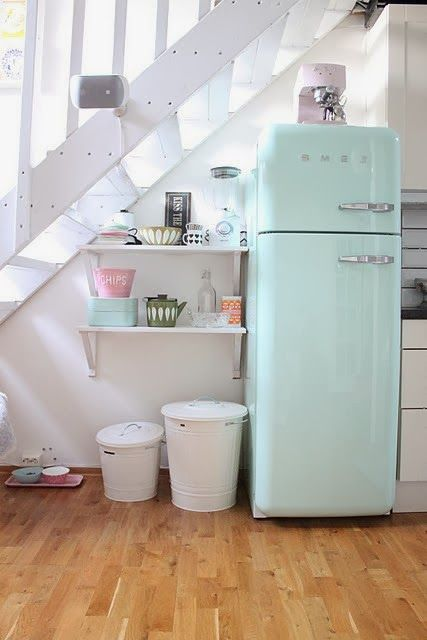 Frigo SMEG | Inspiration cuisine | Pinterest | Kitchens, Aga and ...