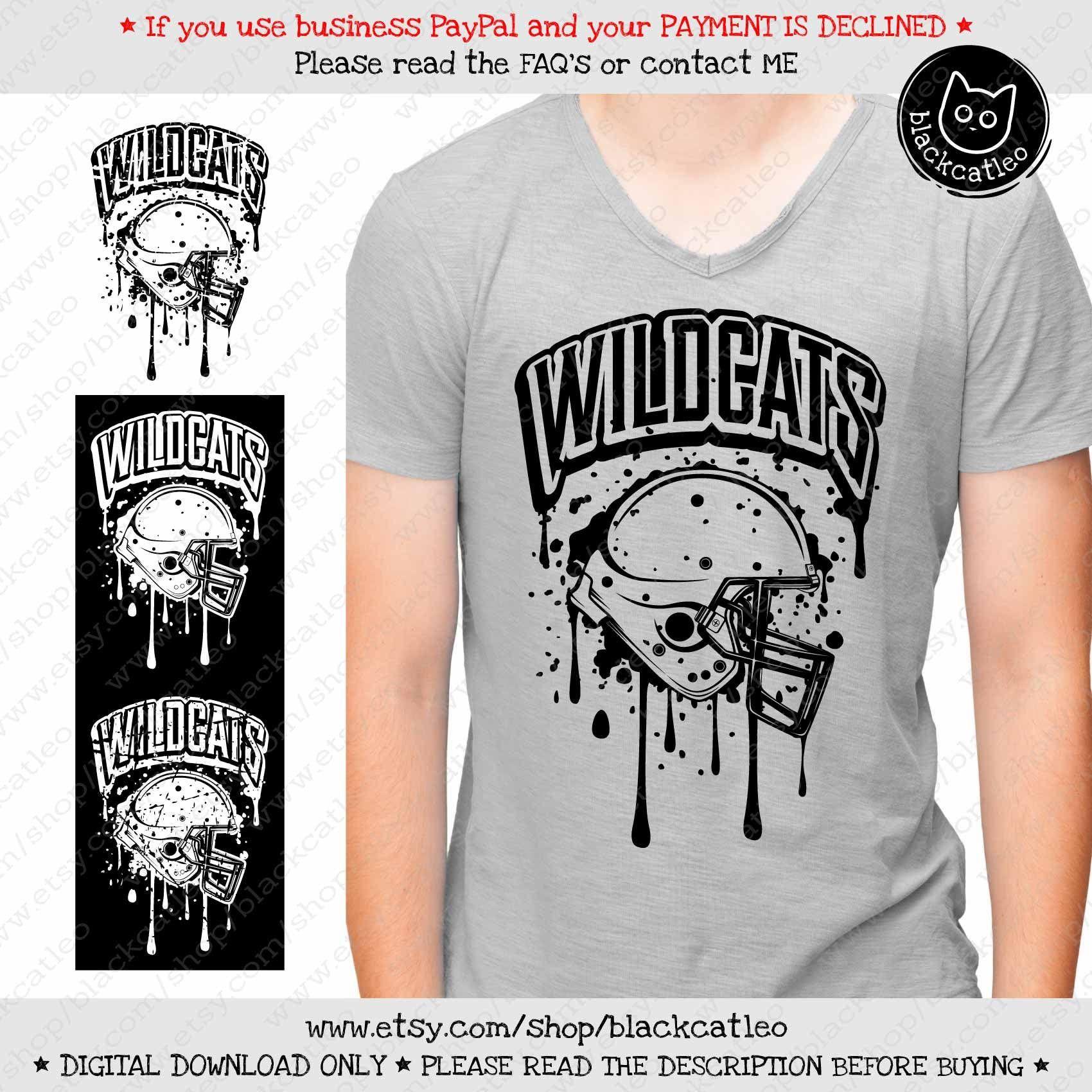 Pin on wildcats t shirt design