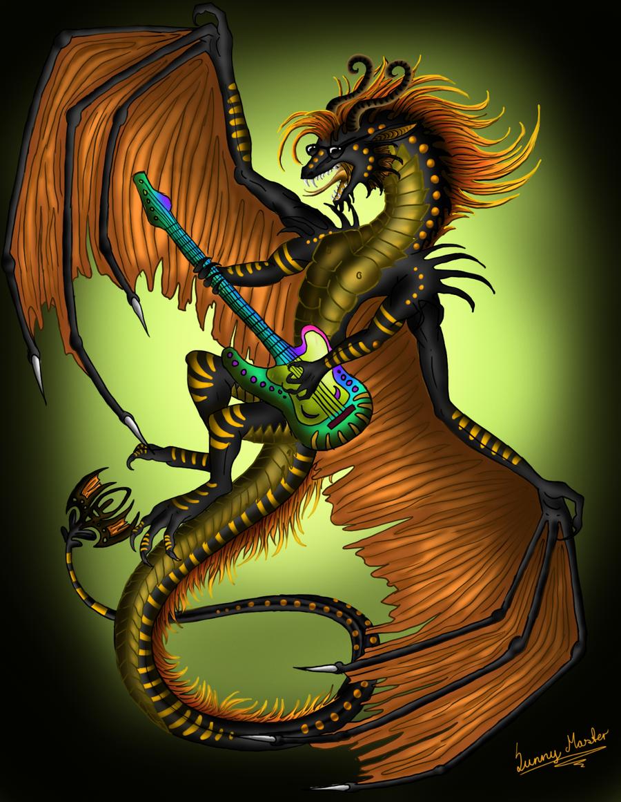 rock dragon by Sunima.deviantart.com on @DeviantArt ...