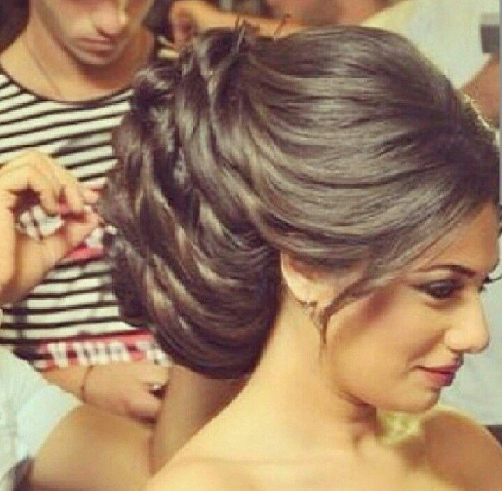 Arabic Hairstyles For Weddings: Arabic Bridal Hair And Makeup