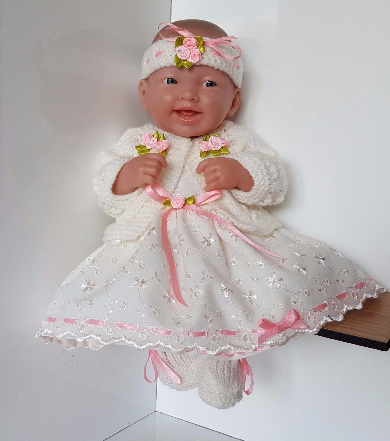 "Handmade Baby Dolls Clothes for 12"" 14"" BERENGUER CUPCAKE LA"