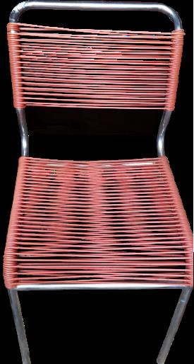 Chaise scoubidou ann e 60 vintage souvenir objetos - Chaise scoubidou vintage ...