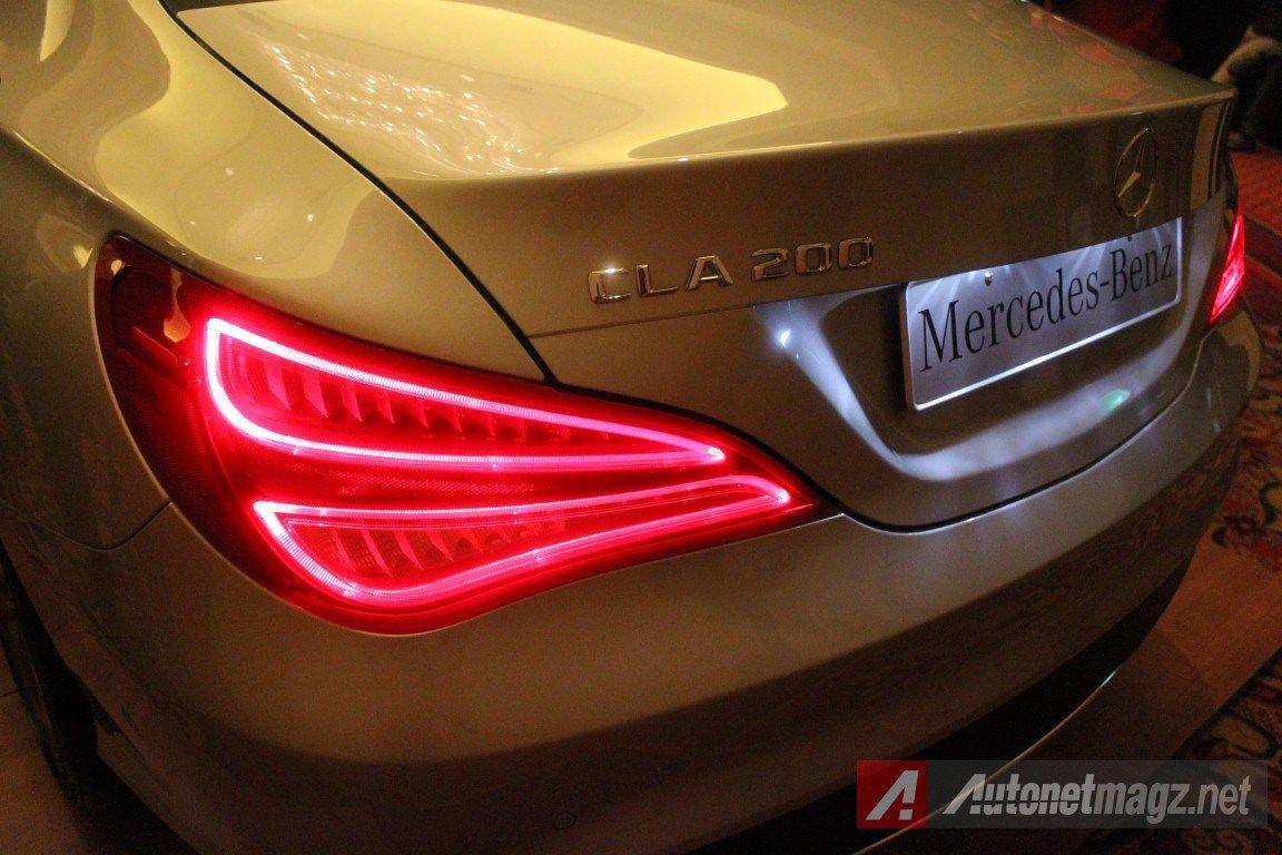 Car news 2104 mercedes benz cla tail light first impression review mercedes benz cla