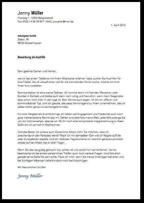 Anschreiben: Muster & Formulierungstipps | CV | Pinterest | German ...