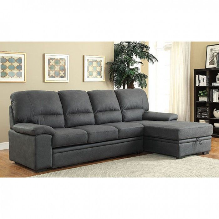 Alcester Sectional Sofa CM6908BK