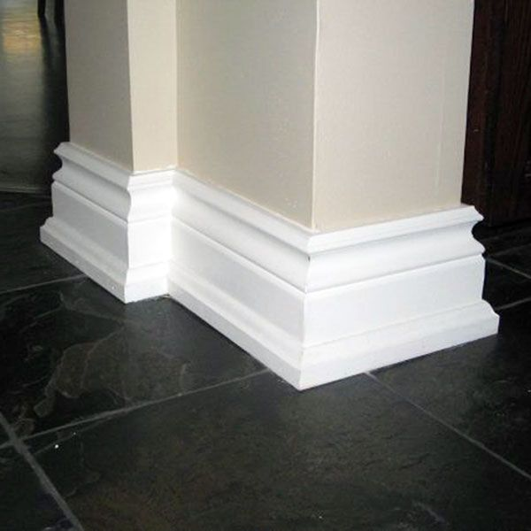 Bold Baseboards For Added Appeal // Moulding // Molding // DIY Home Decor // House Upgrade