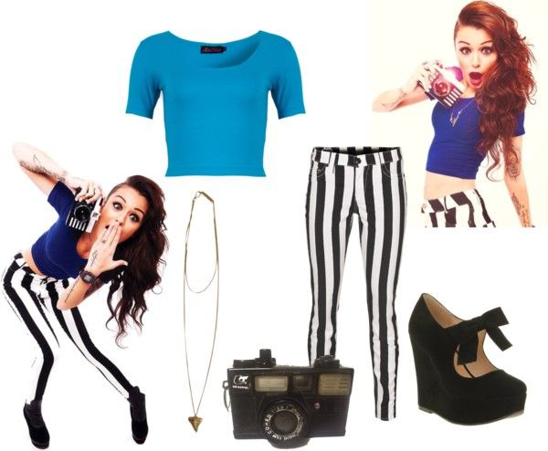 """Look like Cher Lloyd !! :D Iknow the shirt doesnt really match :P"" by anti-spoons ❤ liked on Polyvore"
