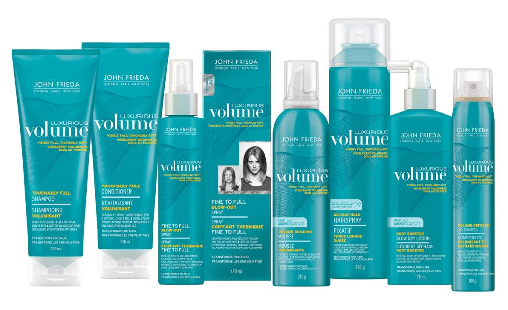 John Frieda Luxurious Volume Product Line + CONTEST!