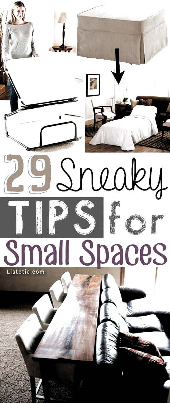 Photo of A ton of clever hacks and storage ideas for small spaces, homes and apartments! …