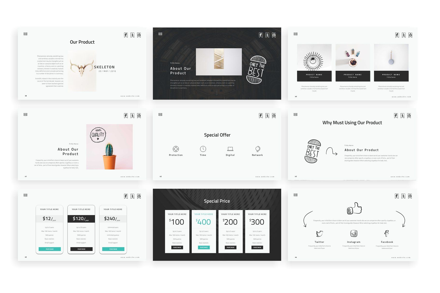 Doodles Powerpoint Template Pages Documentation Pdf Vector
