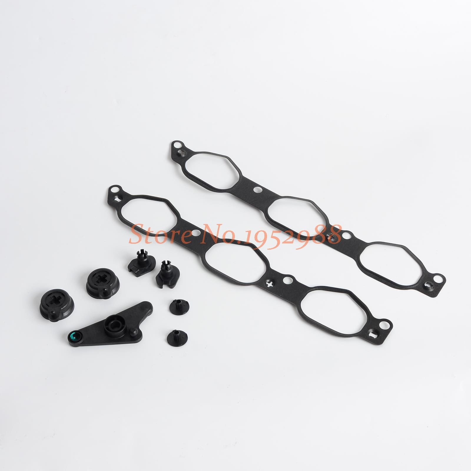 61.94$  Watch here - http://alimoi.worldwells.pw/go.php?t=32726408854 - Intake Manifold Air Flap Runner Repair Kit Gasket for Mercedes-Benz  2721402101 61.94$