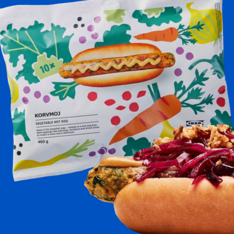 Ikea Is Now Selling 10 Packs Of Its Vegan Hot Dogs In 2020 Vegan Hot Dog Vegan Dog Veggie Dogs