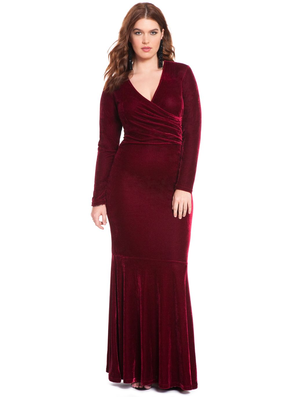 Studio Velvet Gown | Women\'s Plus Size Dresses | Style Love ...
