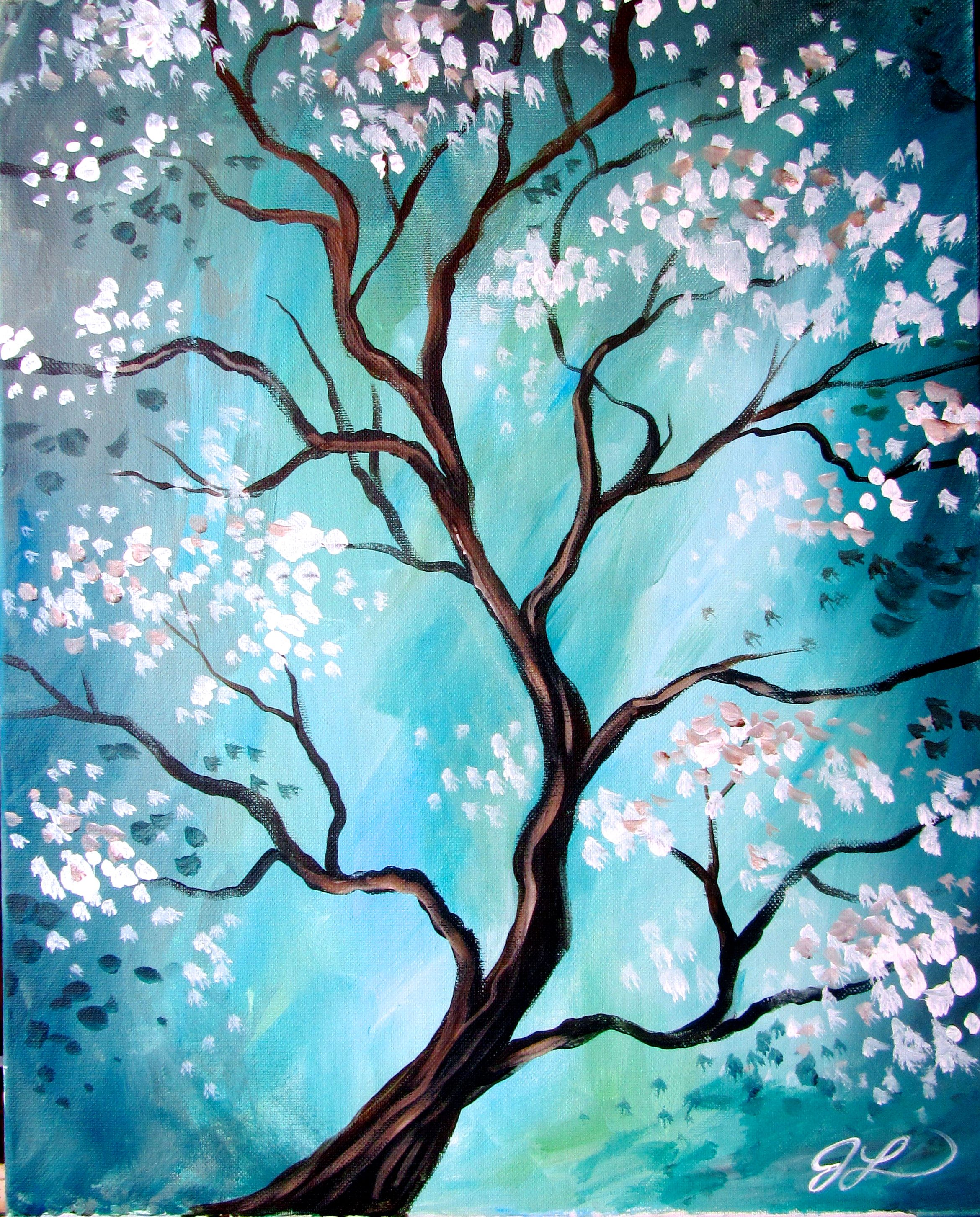Painting With A Twist Ideas Bing Images Tree Painting Tree Art Spring Painting
