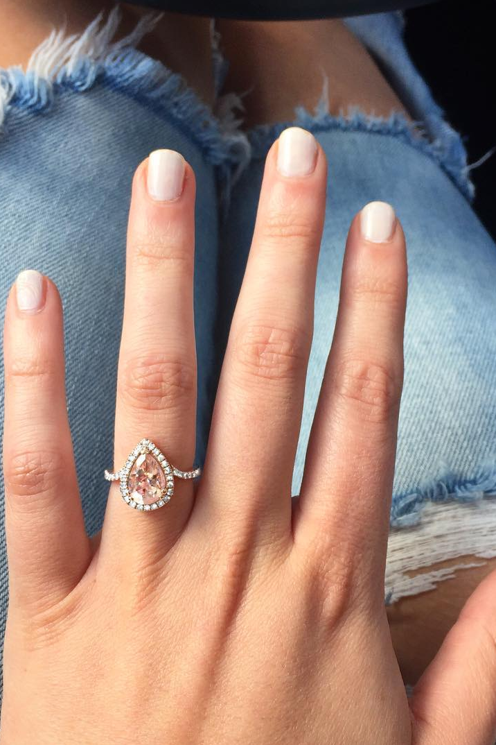 21 Morganite Engagement Rings That Will Have You Tickled Pink