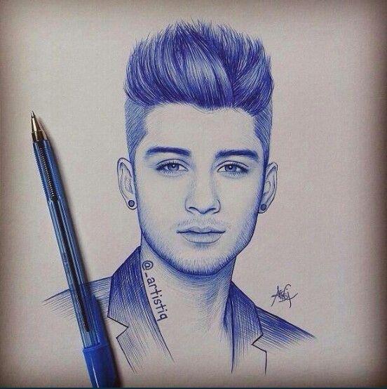 Zayn Malik Drawing Drawing One Direction Drawings