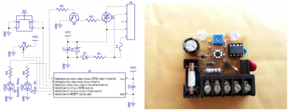 Attiny Watering Timer Turns Off The Water When You Forget