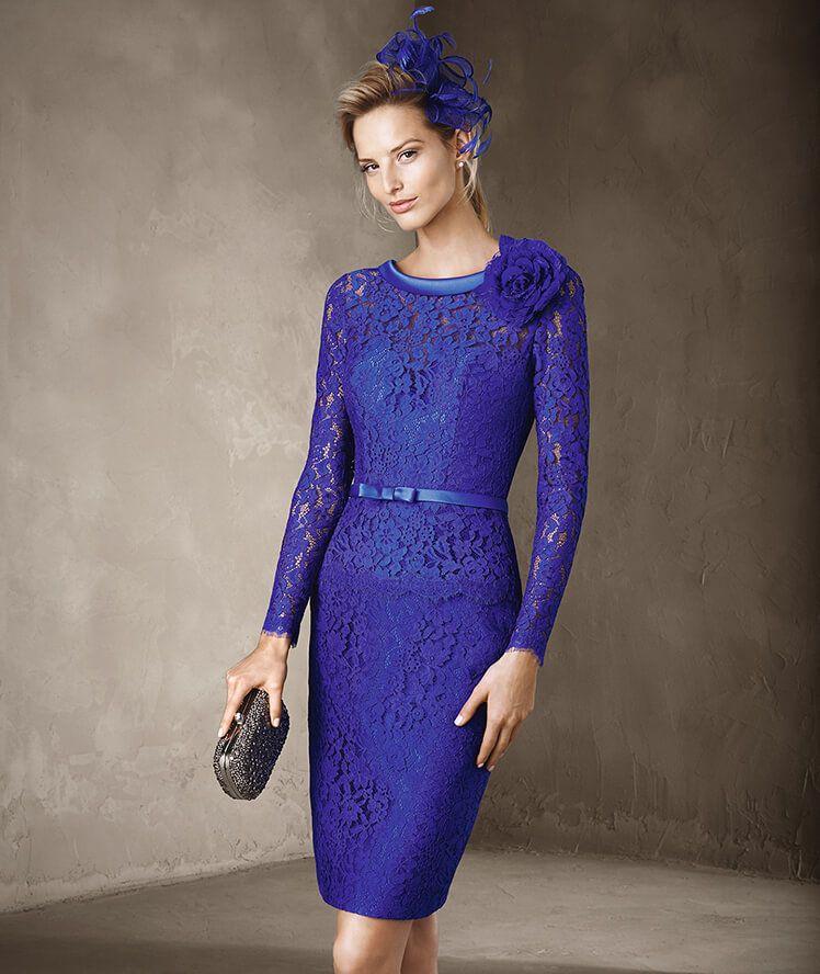 CAPEL - Pronovias knee-length dress | Vestidos de Coctel | Pinterest ...